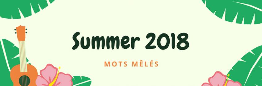 [Summer 2018] Mots mêlés